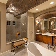 Mediterranean Bathroom by John Cannon Homes