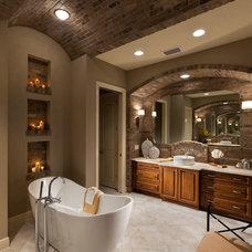 Mediterranean Bathroom by John Cannon Homes