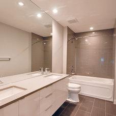 Contemporary Bathroom by Kanvi Homes