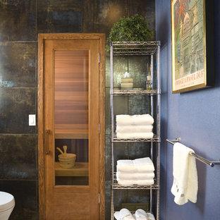 Sauna - contemporary sauna idea in Portland