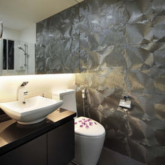 eclectic bathroom by The Interior Place (S) Pte Ltd