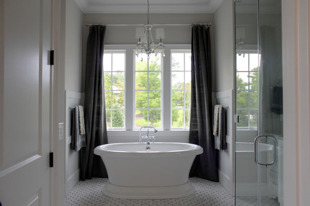 Traditional Bathroom by Mark Johnson Custom Homes