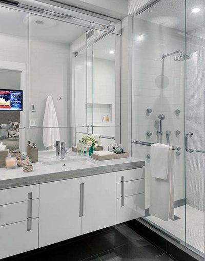 Contemporary Bathroom by Elias Associates