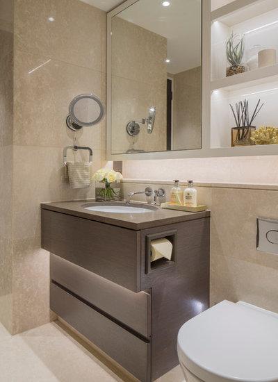 Contemporáneo Cuarto de baño by KSR Interiors