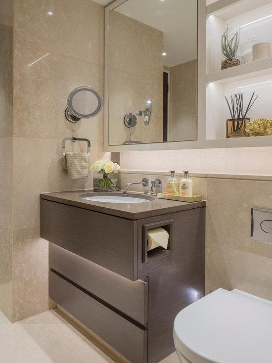 hotel chic bathroom design ideas, remodels & photos