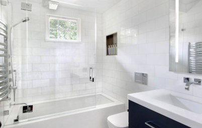 Bathroom of the Week: An Open Feeling in 50 Square Feet