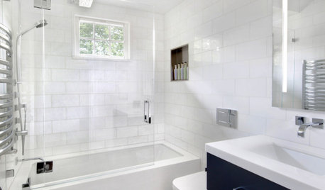 Bathroom Tour: An Open Feeling in 50 Square Feet