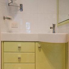 Contemporary Bathroom by Key Piece