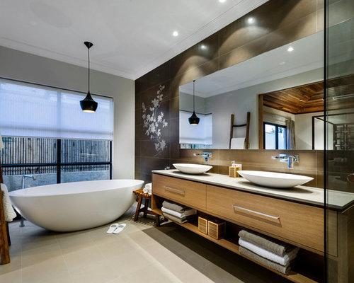 Asian Bathroom Photo In Perth