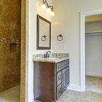 Golden Ray Granite Countertops Traditional Kitchen