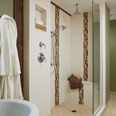 Farmhouse Bathroom by Waldenwood