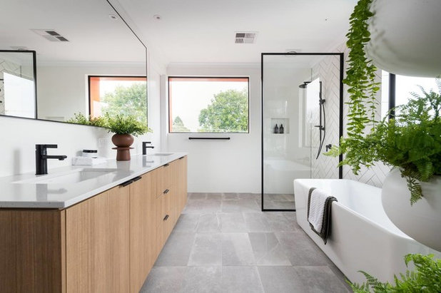 Contemporary Bathroom by Residential Attitudes
