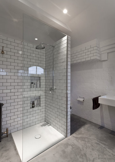 Black And Grey Bathroom Tiles