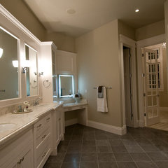 bathroom by dC Fine Homes & Interiors