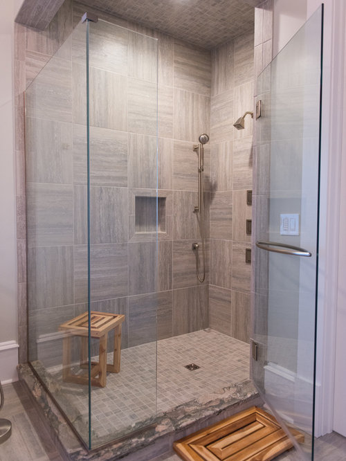 Wood Shower Bench Houzz