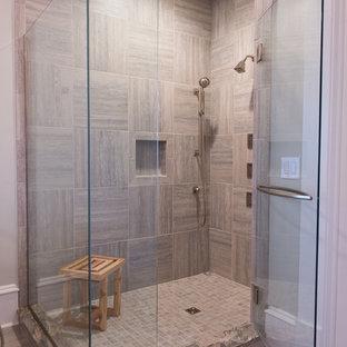 wood shower   houzz
