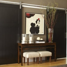 Asian Bathroom by Archway Construction Co