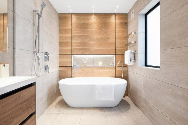 Contemporáneo Cuarto de baño by Tile Space New Zealand