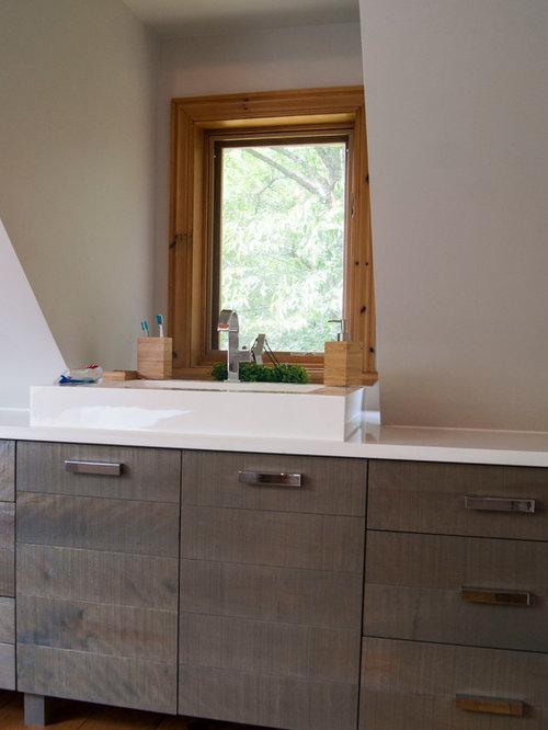Salle de bain campagne montr al photos et id es d co de for Placard d angle salle de bain