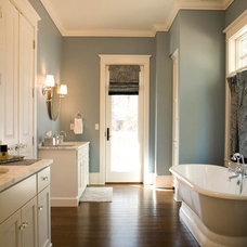 Traditional Bathroom by Mitch Wise Design,Inc.