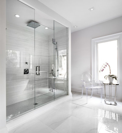 Contemporain Salle de Bain by Urban Development Inc