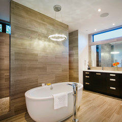 contemporary bathroom by Rockridge Fine Homes
