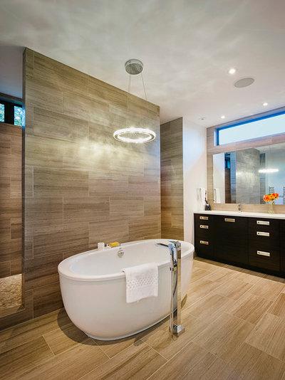 Contemporary Bathroom by Rockridge Fine Homes
