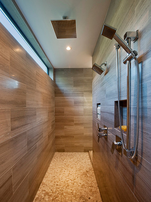 Bathroom Remodel Double Shower : Double shower head ideas pictures remodel and decor