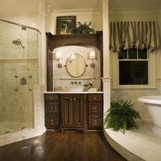 Traditional Bathroom by E.S. Johnson Builders, LLC