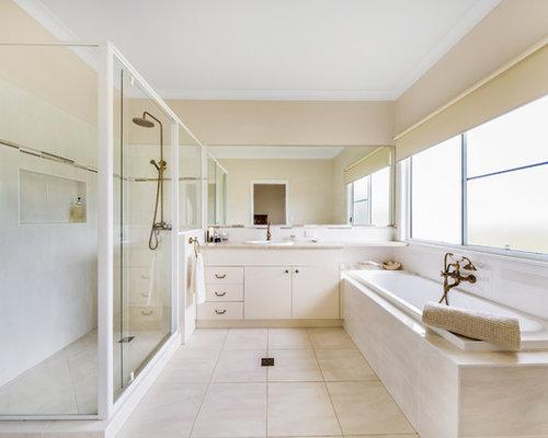 No Tub Bathroom Design Houzz on pink bathroom tubs, modern bathroom tubs, small bathroom tubs, black bathroom tubs, fun bathroom tubs, bathrooms with soaking tubs, vintage bathroom tubs, blue bathroom tubs, bathrooms with corner tubs, rustic bathroom tubs,