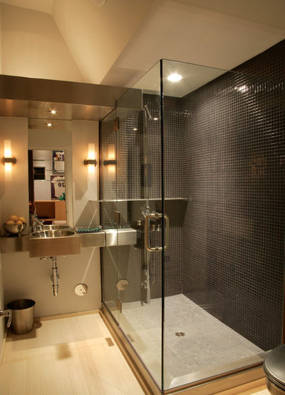 Contemporary Bathroom by Newspace Planning and Design Studios