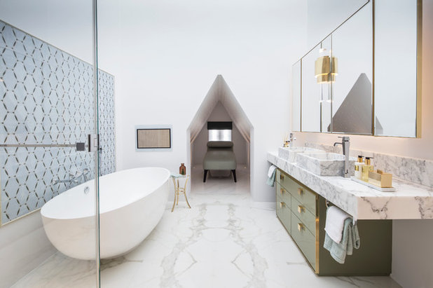 Contemporary Bathroom by Roselind Wilson Design