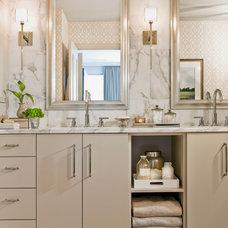 Contemporary Bathroom by Terrat Elms Interior Design