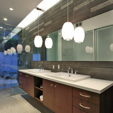 Midcentury Bathroom by Planet Home Living