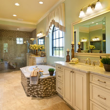 Traditional Bathroom by John Cannon Homes
