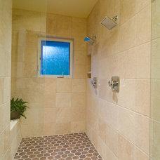 Contemporary Bathroom by Pahlisch Homes, Inc.