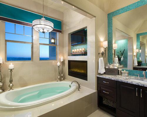 bathroom tile mirror tile around mirror houzz