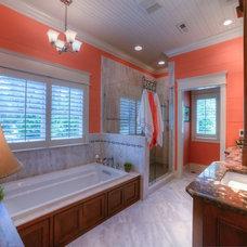 Craftsman Bathroom by Stanley Construction Company