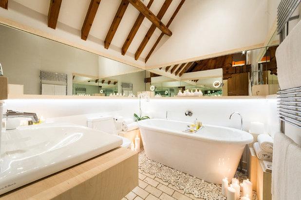 Contemporáneo Cuarto de baño by Gianna Camilotti Interiors