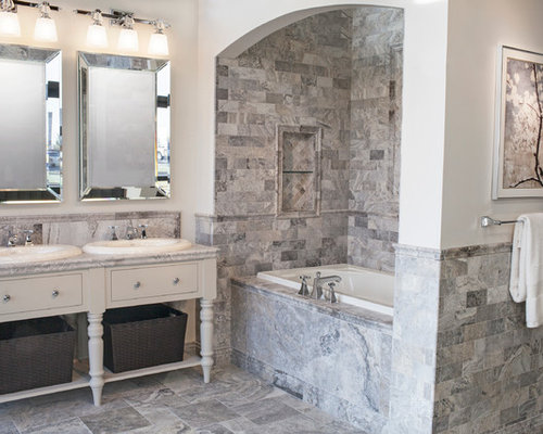 Claros Silver Travertine Home Design Ideas Pictures