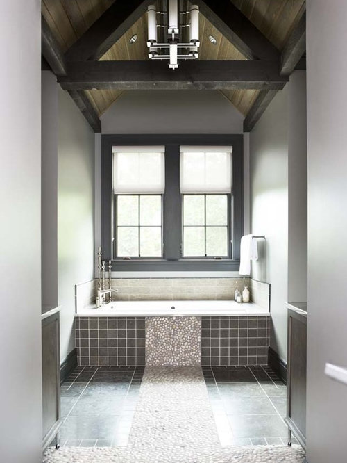River Rock Wall Tile | Houzz