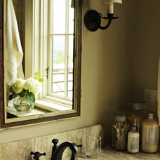 Traditional Bathroom by Yvonne McFadden LLC