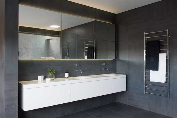 Good Contemporary Bathroom by Liebke Projects