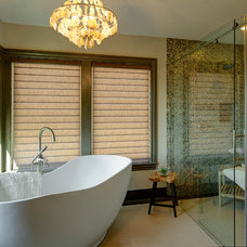 Transitional Bathroom by Urban I.D. Interior Design Services