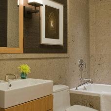 Contemporary Bathroom by Kristi Will Home + Design