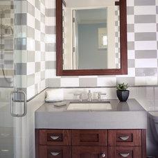 Contemporary Bathroom by Alvarez Homes