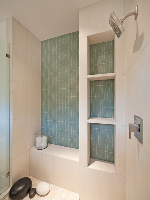 Stone Tile Shower Home Design Ideas Pictures Remodel And
