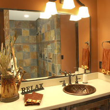Eclectic Bathroom The Cottage