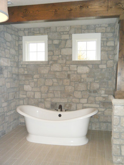Traditional Bathroom by Advanced House Plans