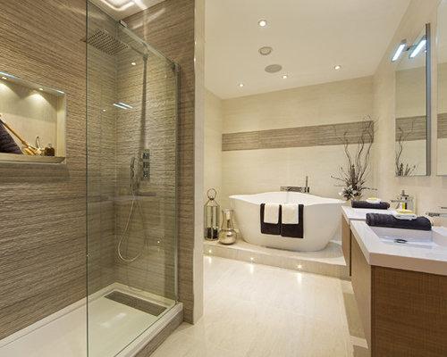 hidden drain shower base